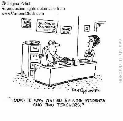 Guidance Counselor Cartoon Picture